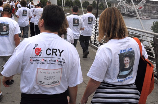CRY walk and t-shirt