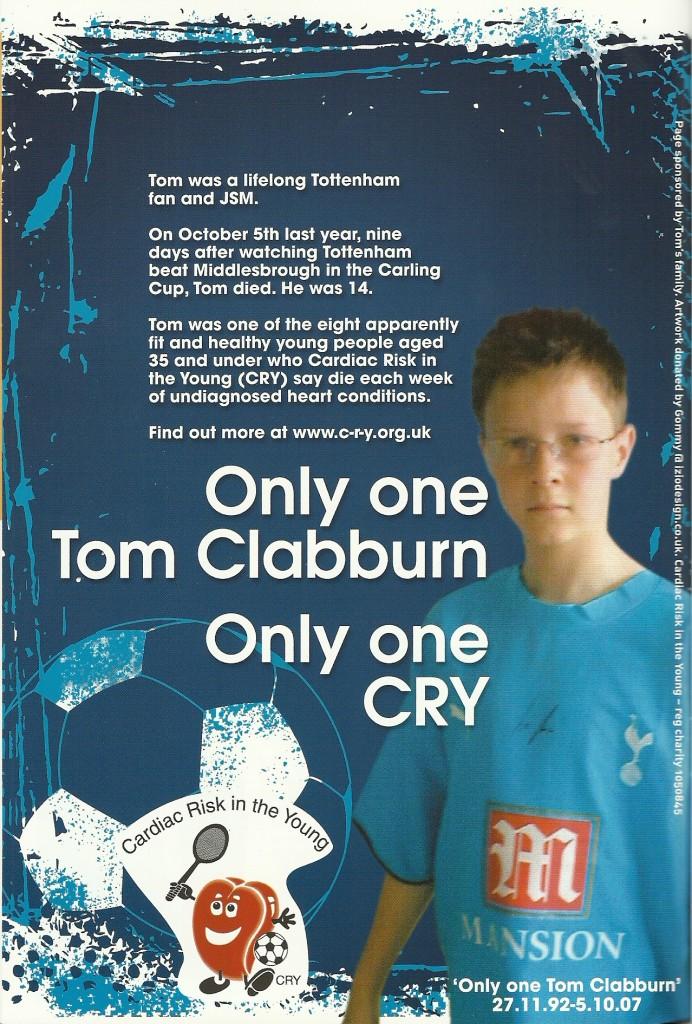 Raising awareness via the Spurs programme