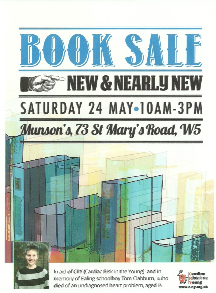 Spring book sale 2014