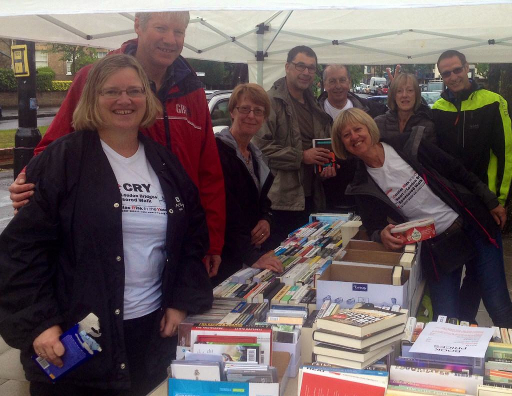 CRY CP book sale May 2014