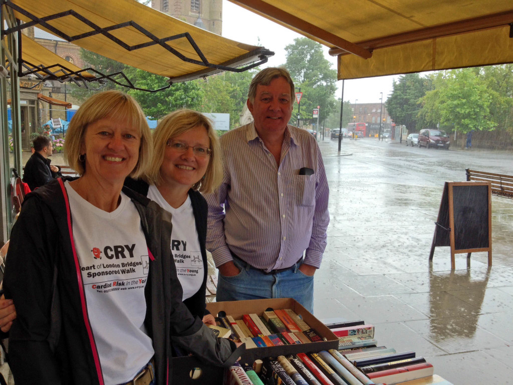 CRY pop-up book sale June 2014