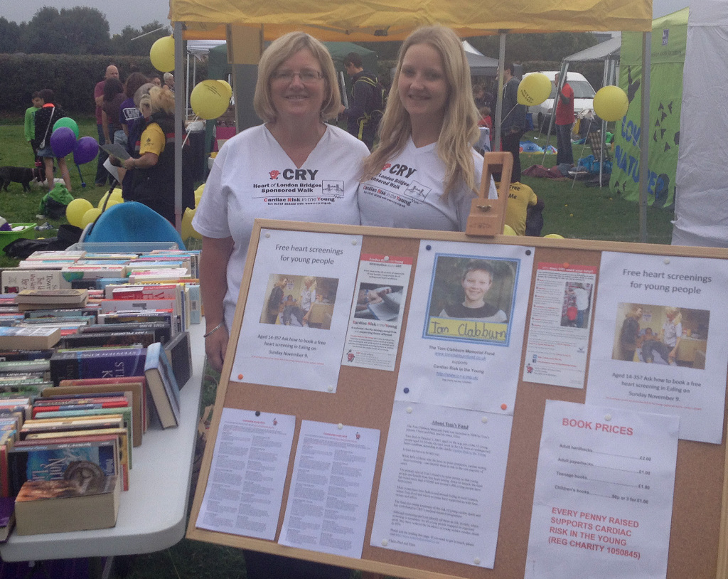 Claire and Ellen at the Brentford Festival