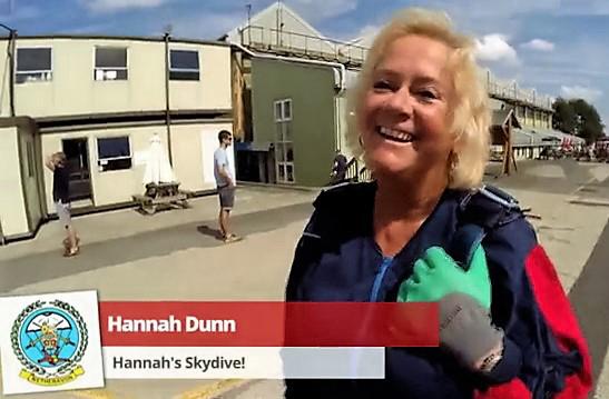 Hannah Dunn, skydive, CRY, August 2015