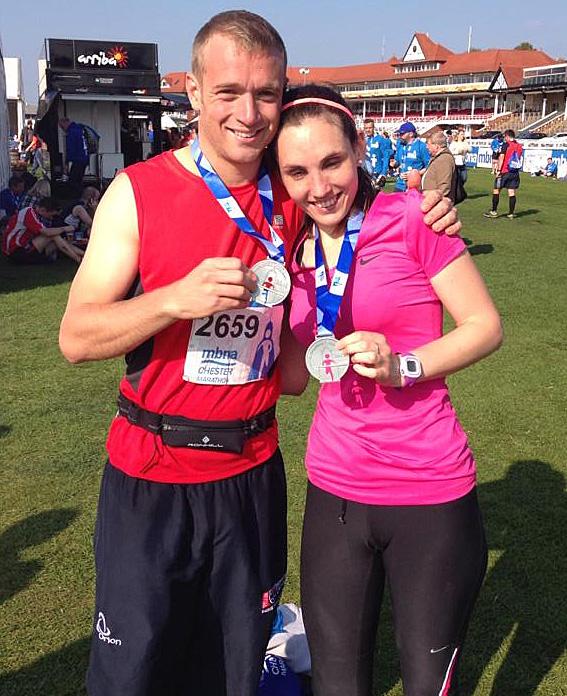 Jamie Gavin, Chester Marathon