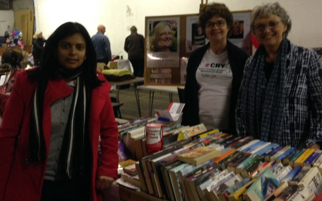 Ealing Central and Acton MP Rupa Huq, a CRY supporter, visited the bookstall.